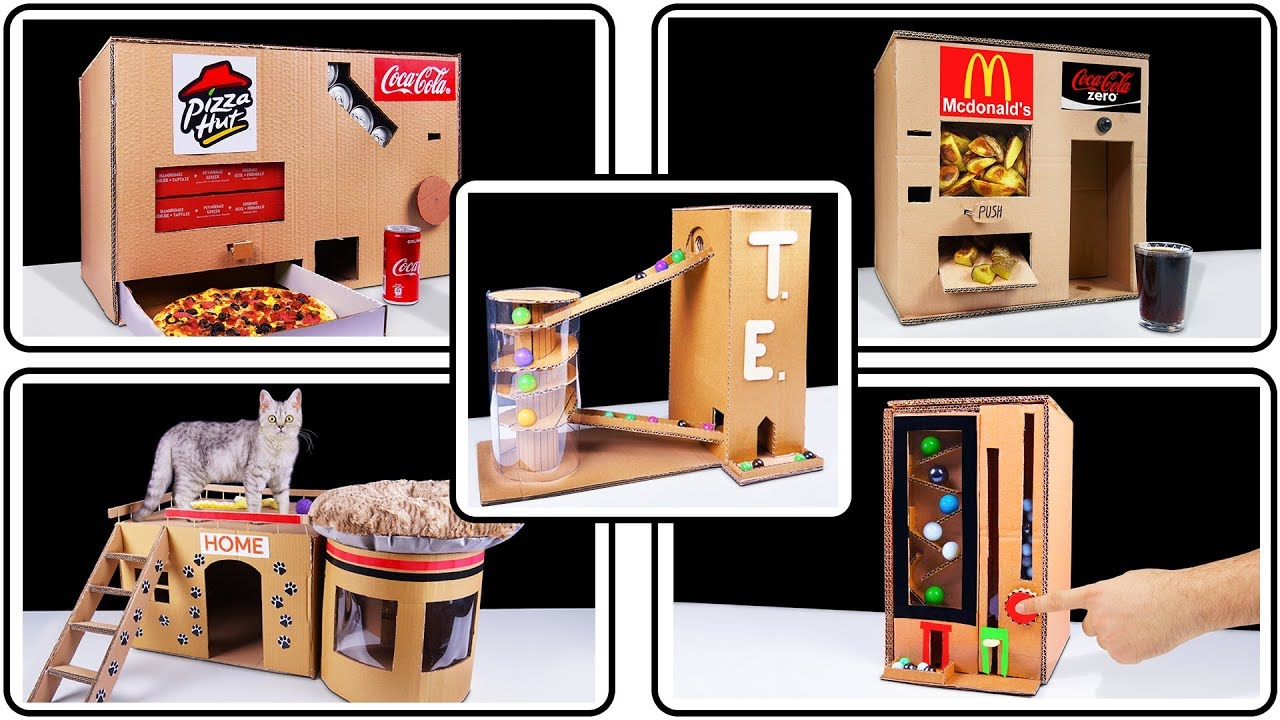 Amazing top 10 cardboard projects you can do by yourself compilation amazing top 10 cardboard projects you can do by yourself compilation solutioingenieria Images