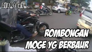 Rombongan MOGE yang berbaur | Jodie Motovlog gak jadi ke Bandung (Diary #14)