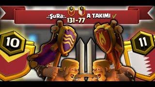 İKİ TÜRK KLANININ KAPIŞMASI !!! (Klan savaşları!)   Clash Of Clans
