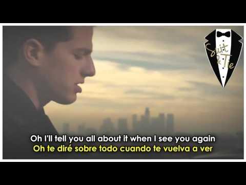 Wiz Khalifa ft Charlie Puth   See You Again  Lyrics + Sub Español e Ingles  Video Official   YouTube
