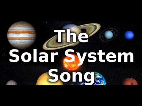 The Solar System Song from YouTube · Duration:  7 minutes 2 seconds