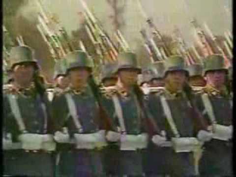 Chile Militärparade 1993 - Landgraf Marsch