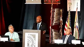 NCAI - National Congress of American Indians 2018 - Denver Colorado -  Mayor Michael Hancock,