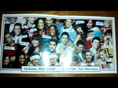 Unboxing CD Glee: The Music, The Graduation Album