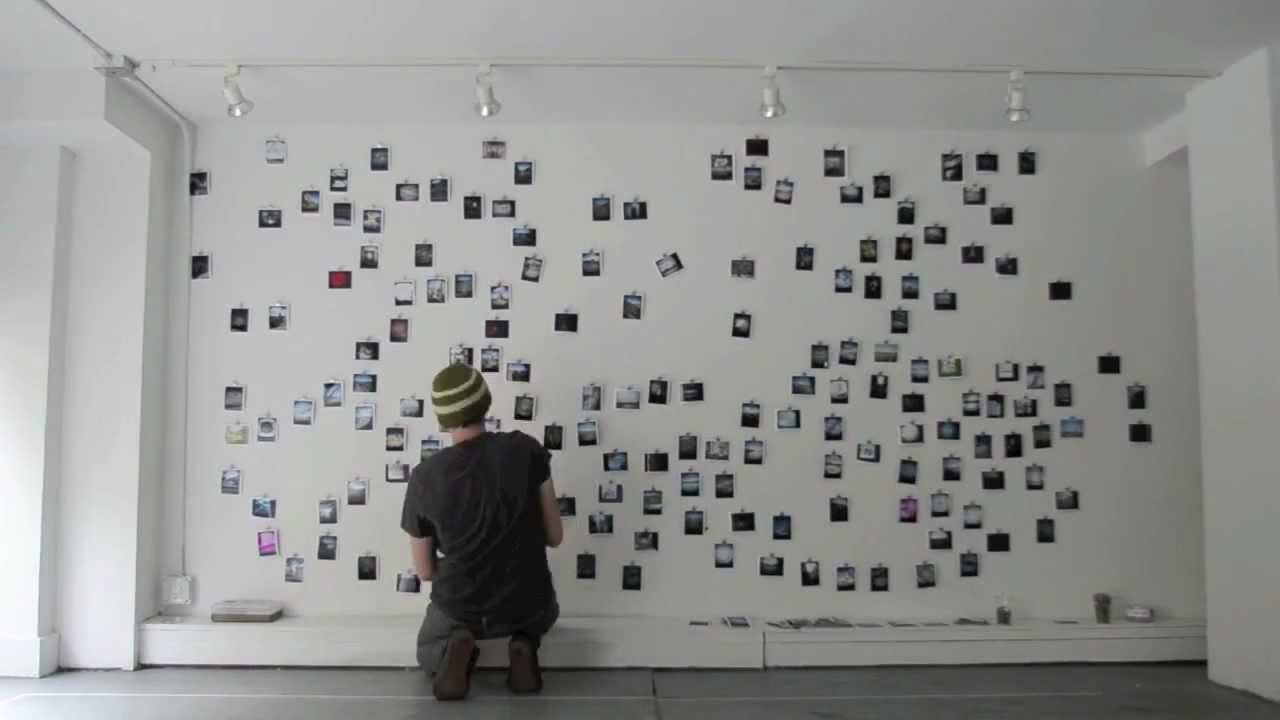 Polaroid Wall Youtube