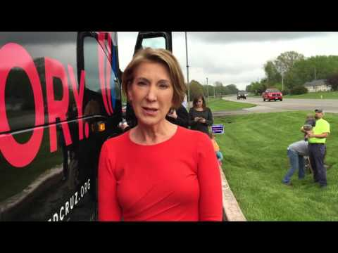 Carly Fiorina Tells Us Why You Should Vote For Cruz-Fiorina 2016