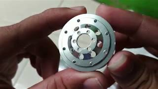 Unboxing wheel metal wpl/velg metal wpl