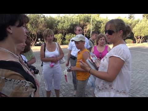 Греция: Афины Прогулка по Акрополю (Серия 10)