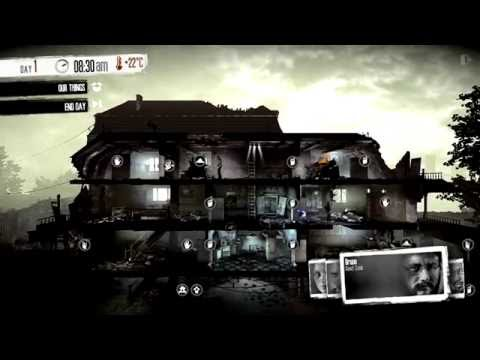 """This War of Mine: Depressive Realistic Survival Game """" In war, not everyone is soldier """" 