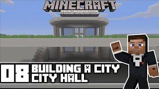 minecraft modern hall building xbox