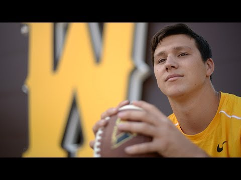 University of Wyoming QB Josh Allen