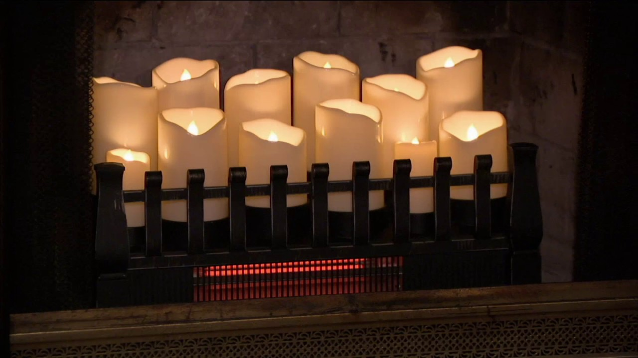 Candles For Fireplace Insert Duraflame Infrared Quartz Heater Fireplace Insert On Qvc