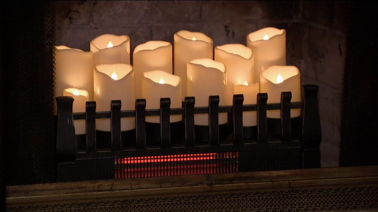Duraflame Infrared Quartz Heater Fireplace Insert on QVC