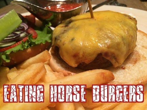 Eating Horse Burgers in Kazakhstan! Yum!