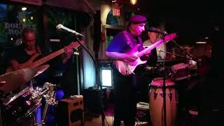 George Lilly performs  'Virus called the Blues' at Jupiter Jazz Jam, Double Roads, Jupiter, Florida