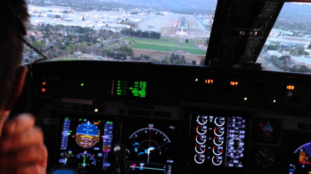 Gulfstream IV Cockpit