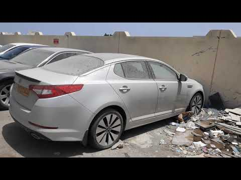 Abandoned Cars in Muscat Oman