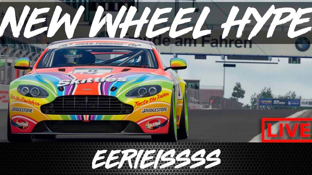 Gran Turismo Sport FIA Practice (And NEW Wheel Reveal) LIVE