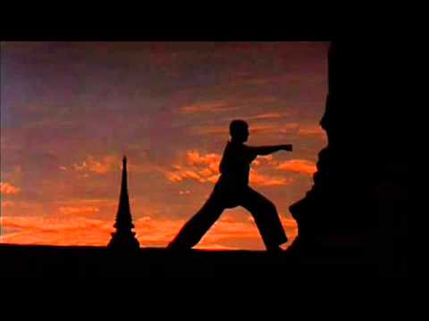 "A Beautiful Soundtrack ""Eagle Lands"".....from the MV 'The KickBoxer' !"