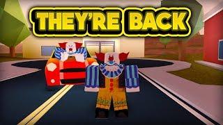 LES CLOWNS SONT BACK! (ROBLOX Jailbreak)