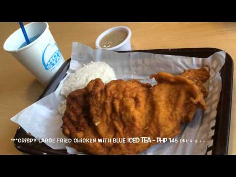 Hot-Star Taiwanese Large Fried Chicken Chop Blue Bay Walk Pasay City Manila by HourPhilippines.com