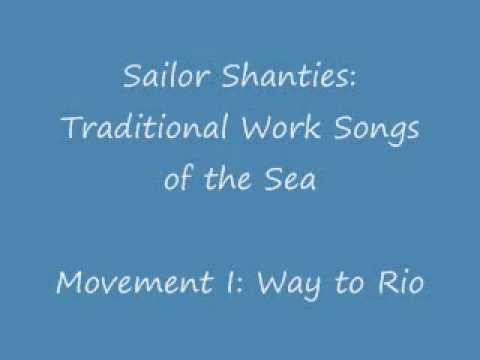 Sailor Shanties: Traditional Work Songs of the Sea (Way to Rio) - Percy Hall