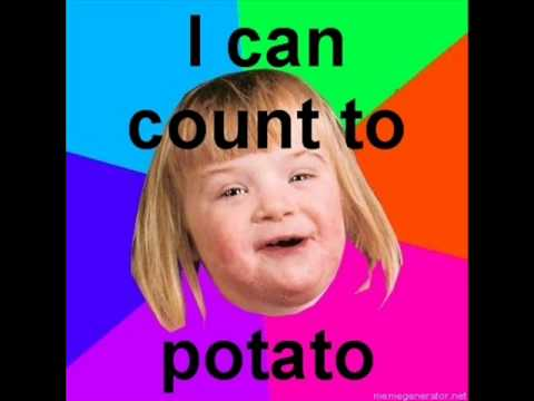 I Can Count To Potato - YouTube