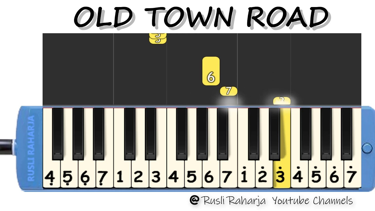 Old Town Road not Pianika