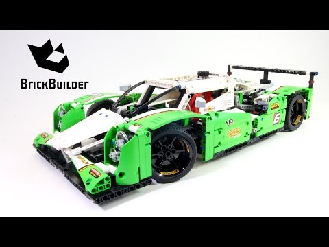 Lego Technic Hours Race Car Lego Speed Build Youtube