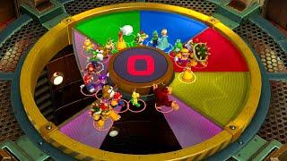 Super Mario Party Minigames - Bowser vs Mario vs Peach vs Yoshi