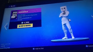 Fortnite GamePlay New Marshmello skin! Live Stream