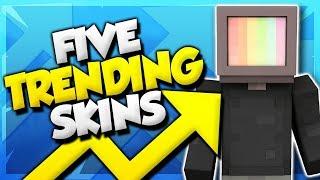 Video 5 Trending Minecraft Skins! (Top Minecraft Skins) download MP3, 3GP, MP4, WEBM, AVI, FLV September 2018