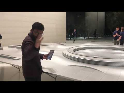 RJ Balaji's in Apple Spaceship campus HQ @ Cupertino