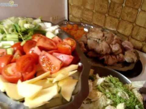Recette Saute De Porc Aux Legumes Youtube