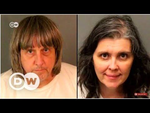 Kaliforniya'da 13 çocuğunu esir tutan...