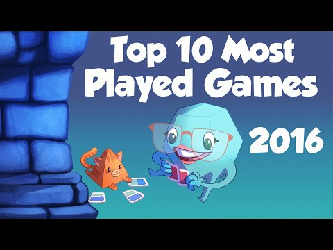 Top 10 Most Played Games