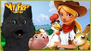 My Free Farm 2 C ГОВОРЯЩИМ СУПЕР КОТОМ № 1 ( ИГРА для ДЕТЕЙ )