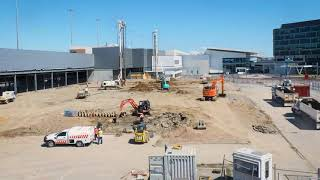 Adelaide Airport Terminal Expansion Project Time Lapse - August 2020