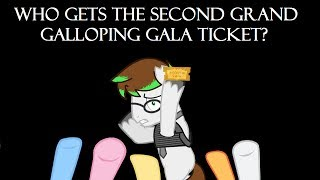 Candid Canned: Who Gets the Second Grand Galloping Gala Ticket?