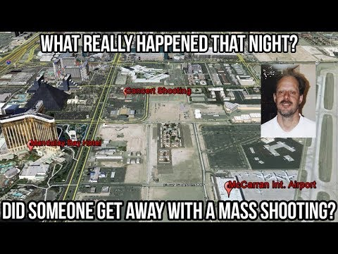 Truth Surrounding Las Vegas Shooting - 2 Shooters - What Really Happened - Police Radio