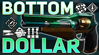 Bottom Dollar Review (The God Rolls) | Destiny 2 Season of t…