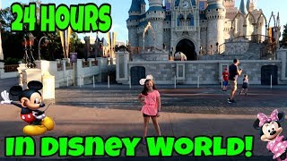 24 Hours Walt Disney World! Kid In Charge For 24 Hours!