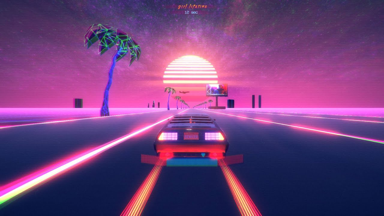 Chill Wave Car Wallpaper Outdrive Pc 60fps Gameplay 1080p Youtube