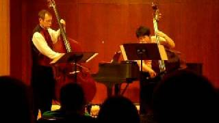Scherzo for Two Basses, Tony Osborne