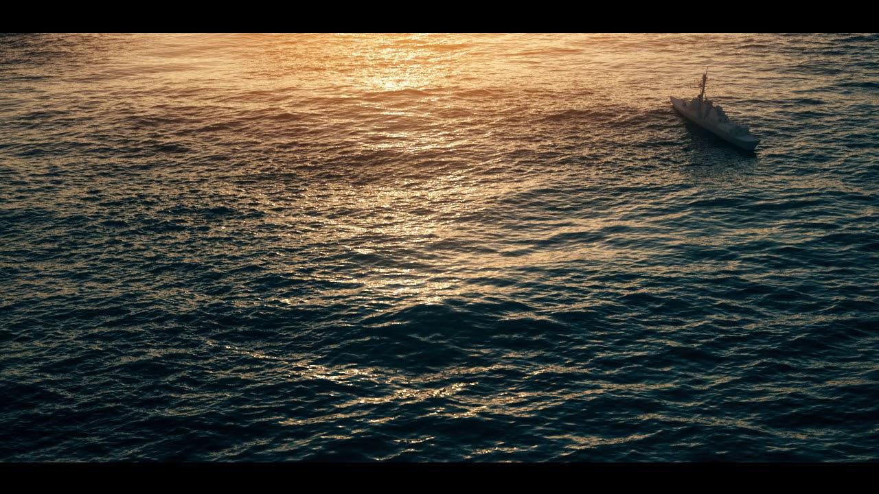 Ocean render (Houdini)