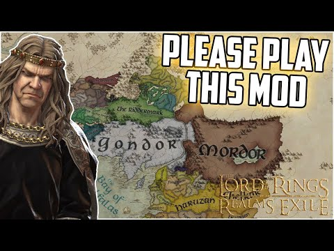 This Is The BEST MOD For Crusader kings 3 (Lord of the Rings Realms in Exile Update) |