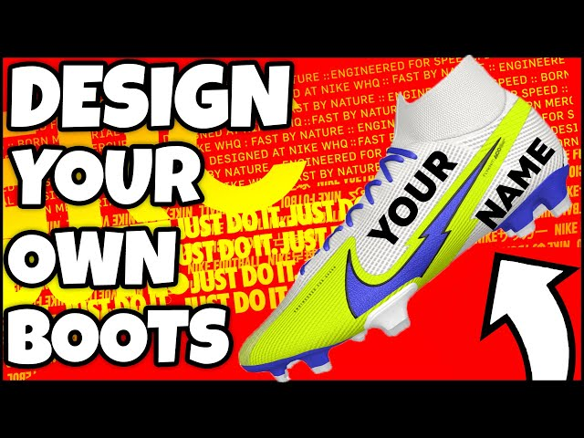 Own Nike Football Boots with NIKEiD