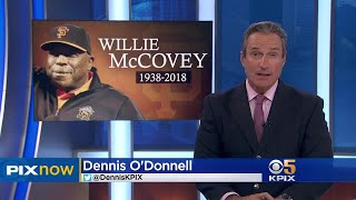 San Francisco Giants Hold Public Memorial For Willie McCovey