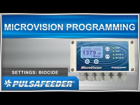 MicroVision - Biocides Settings - Programming