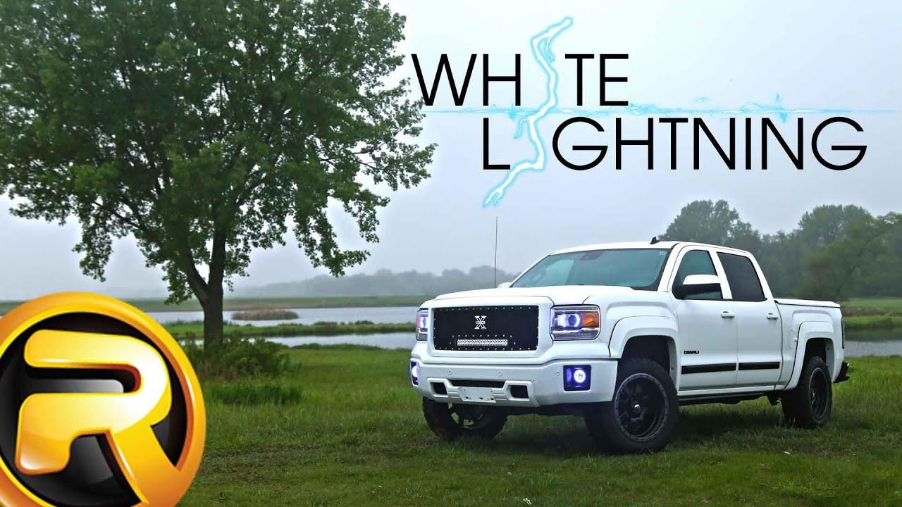 """""""White Lightning"""" Custom 2014 GMC Sierra 1500 Denali - YouTube"""